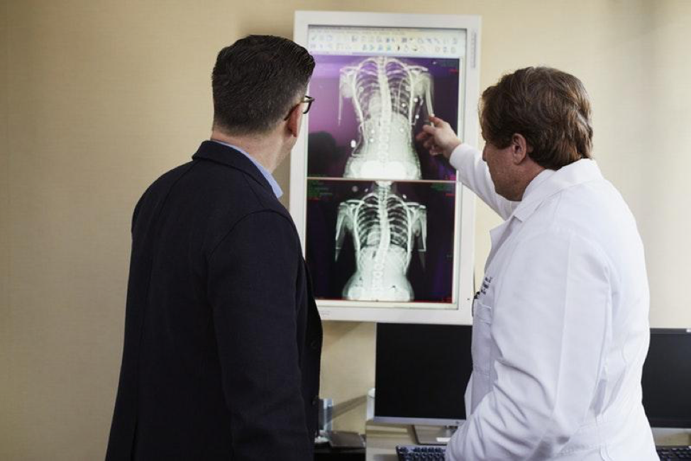 X-rays of the spine, orthotics in Knoxville, TN and Johnson City, TN from Victory, spinal orthotics, scoliosis bracing, upper extremity orthotics, pediatric orthotics and more, call today.